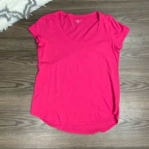 Eileen Fisher Pink Tee Size Petite Small